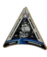 OFFICIAL NASA ISS 57 SPACE STATION PIN